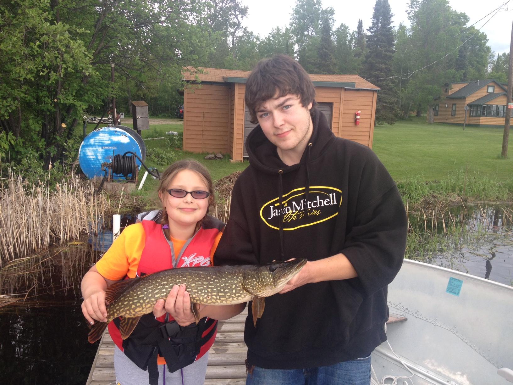 Lake vermilion fishing report june 23 2014 everett for Lake vermilion fishing report