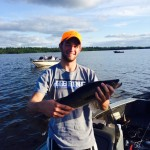 Lake Vermilion August walleye fishing