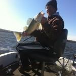 October walleyes on Lake Vermilion