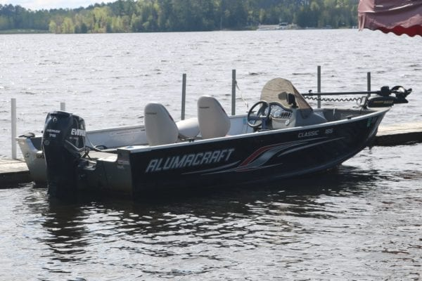 Lake Vermilion rental boats