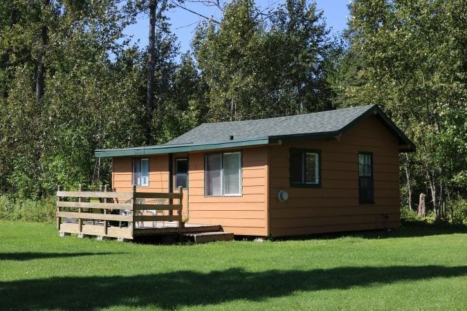 Everett Bay Lodge cabin 3
