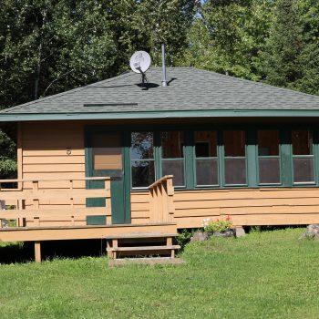 Everett Bay Lodge cabin 5