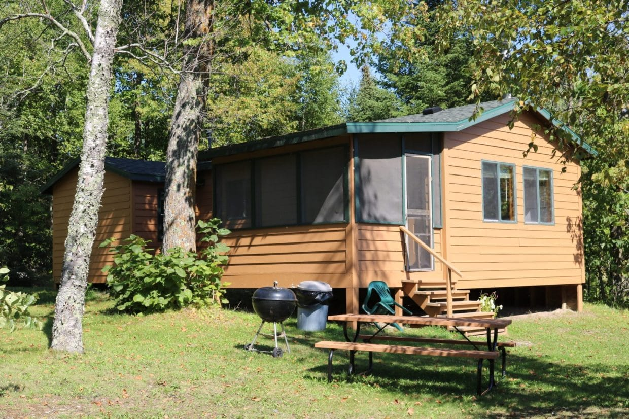 Lake Vermilion Everett Bay Cabin