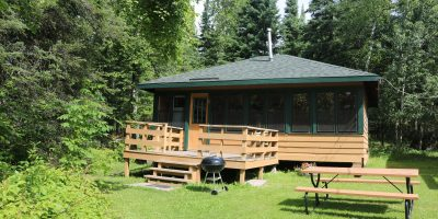 Lake Vermilion resort cabins