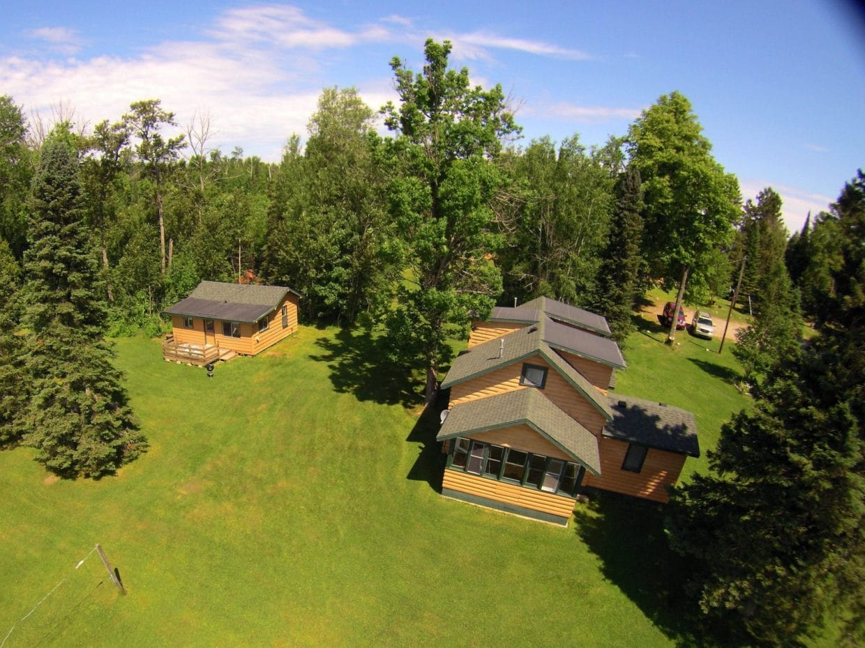 Lake Vermilion resort cabin