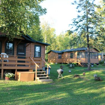 Everett Bay Lakefront cabins