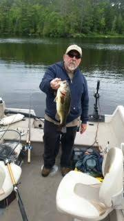 June bass on Vermilion