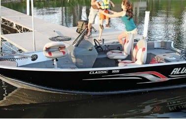 Lake Vermilion boat rental - Alumacraft Classic