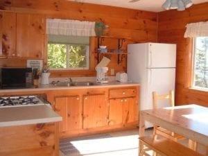 Lake Vermilion resort cabin