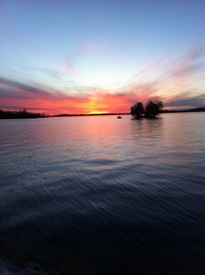 Lake Vermilion sunset