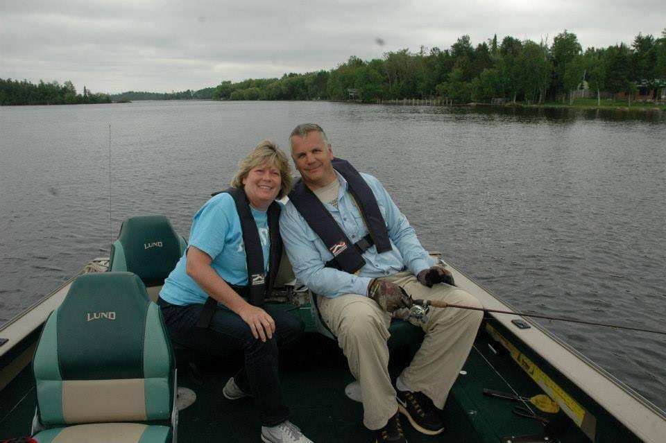 Tolenos in boat