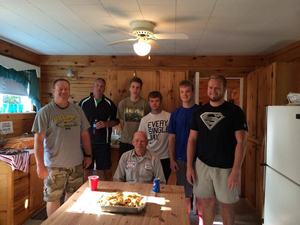 Lake Vermilion, Minnesota walleye fish fry