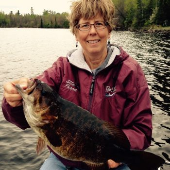 Lake Vermilion 2015 smallmouth bass