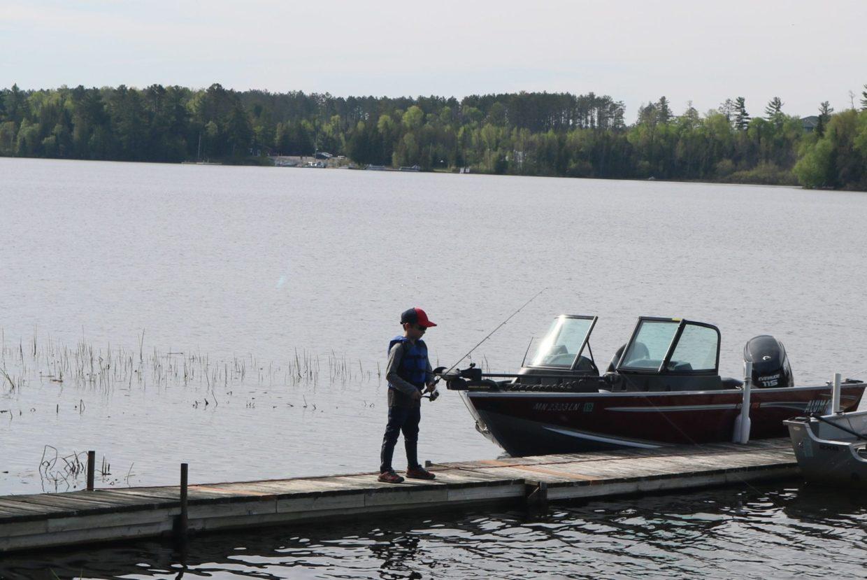 Lake vermilion late may fishing news everett bay lodge for Lake vermilion fishing report