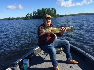 Lake Vermilion walleye July 2017