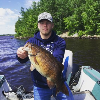 Lake Vermilion smallie June 2018