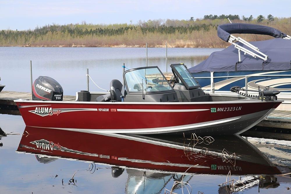 Lake Vermilion 2017 Alumacraft Voyageur Sport 175 Boat Rental