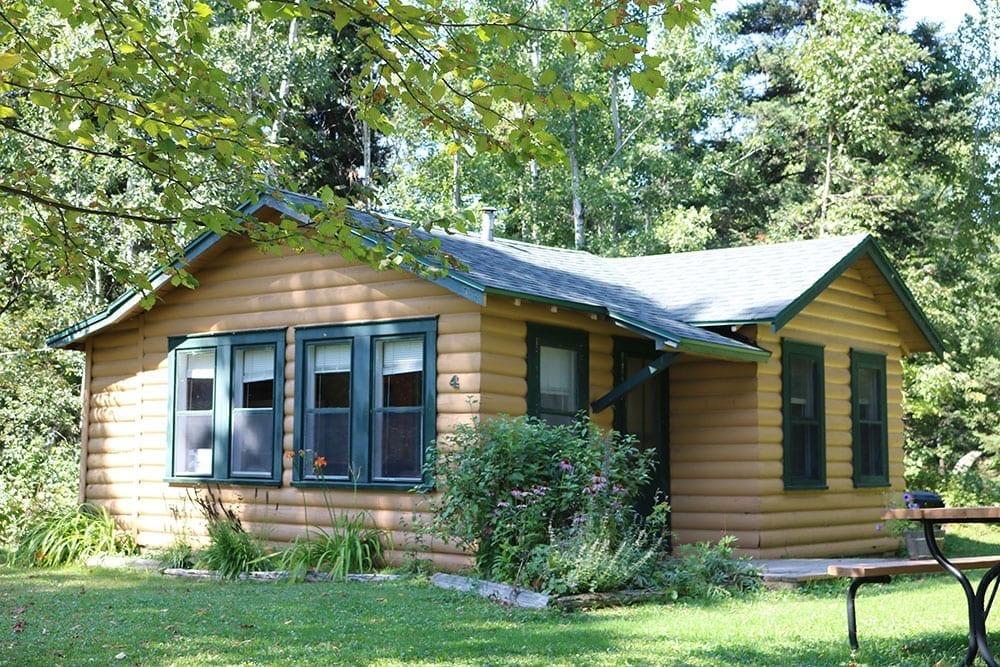 Vermilion rental cabin