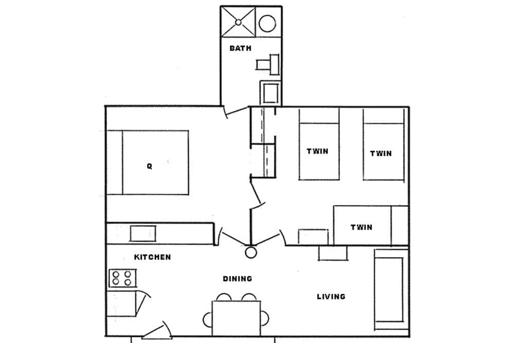 cabin 6 layout