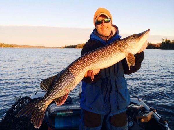 Northern Pike fishing on Lake Vermilion