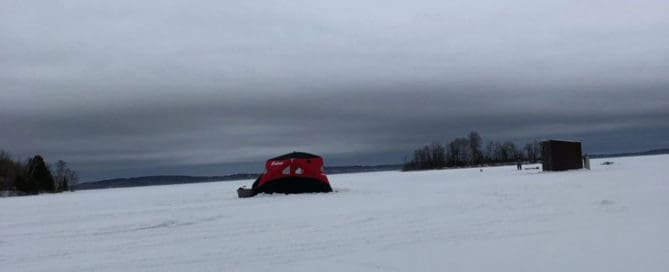 Lake Vermilion ice fishing